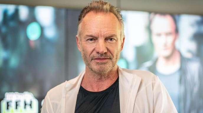Sting ist ein neugieriger Optimist.