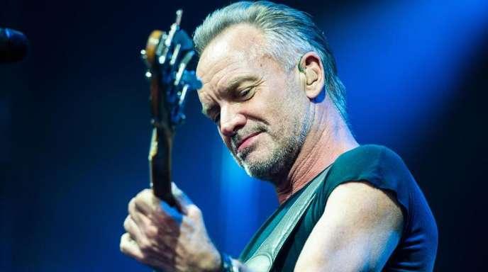 Sting präsentierte in Hannover viele seiner Hits.