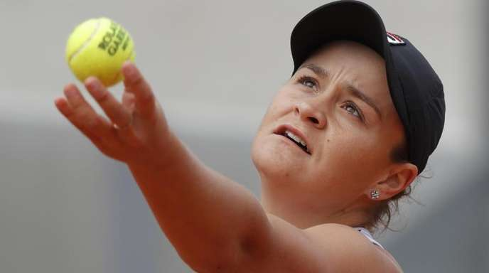Ashleigh Barty hat sich ins Finale der French Open gespielt.