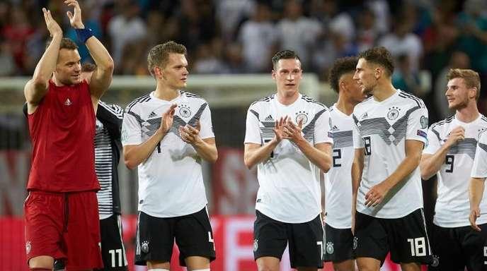 Das DFB-Team bot gegen Estland eine tadellose Leistung.