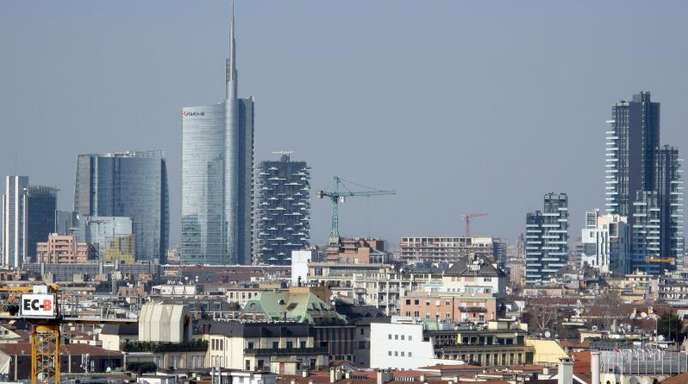 Finanzmetropole Mailand: Deutsche Unternehmen sorgen sich zunehmend um das Wirtschaftsklima in Italien.