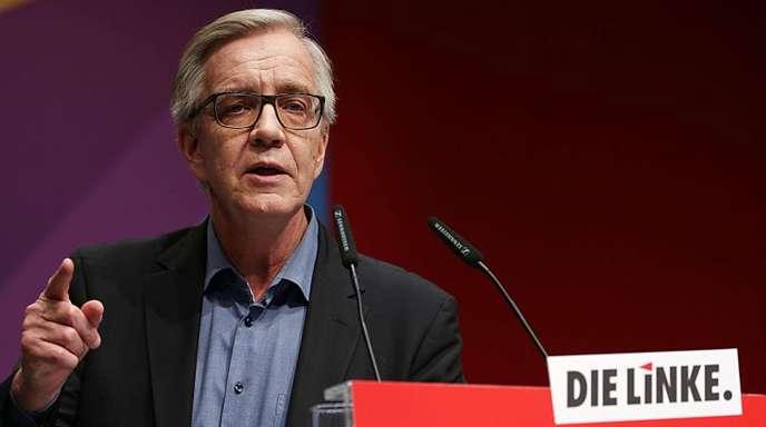 Linksfraktionschef Dietmar Bartsch über eine mögliche Fusion seiner Partei mit der SPD: «Es besteht keine Notwendigkeit und Voraussetzung ein solches Thema zu erörtern.»