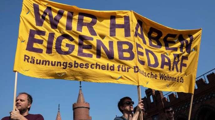 «Wir haben Eigenbedarf»: In Berlin regt sich Widerstand gegen die Explosion der Mieten.