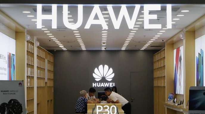 Die USA hattenHuaweiim Mai auf eine schwarze Liste von Unternehmen gesetzt.