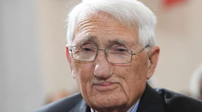 Jürgen Habermas wird 90 Jahre alt.