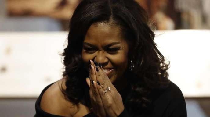 Michelle Obama hat die perfekte Wuftechnik.