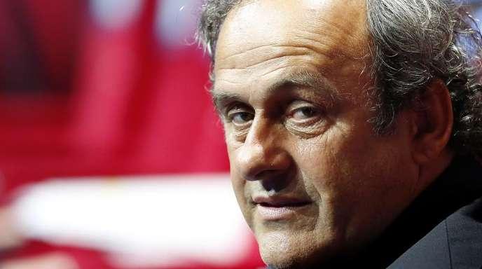 Soll in Polizeigewahrsam genommen worden sein: Michel Platini.