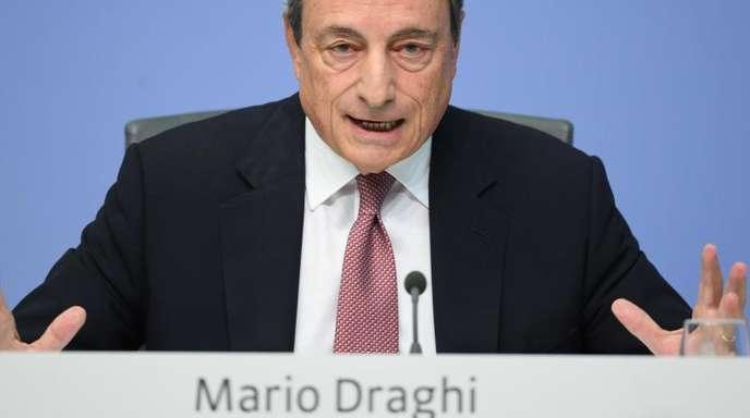 EZB-Präsident Mario Draghi: «Wir sind weit entfernt von einer Normalisierung der Geldpolitik, weil die Welt weit entfernt von einer Normalisierung ist.»