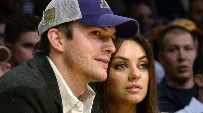 Getrennt? Nein, der US-Schauspieler Ashton Kutcher und seine Frau, die Schauspielerin Mila Kunis, sind zusammen.