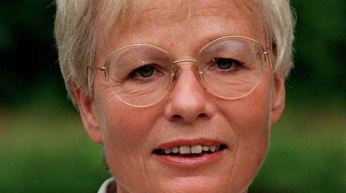 Die erste Nachrichtensprecherin im deutschen Fernsehen, Wibke Bruns, ist tot. Foto (1995): Hubert Link