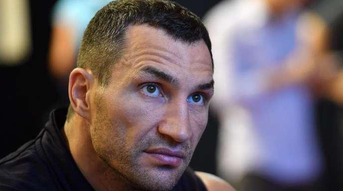 Wladimir Klitschko kam mit dem Schrecken davon.