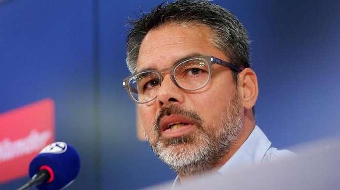 David Wagner stellt sich als neuer Cheftrainer vom FC Schalke 04 vor.