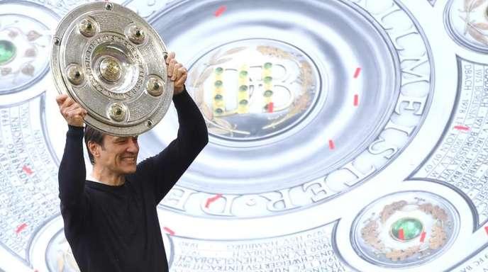 Trainer Niko Kovac ist mit dem FCBayern München in der Bundesliga der Titelverteidiger.