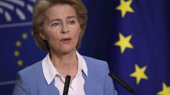 Die Kandidatin für das Amt der Präsidentin der Europäischen Kommission: Ursula von der Leyen.