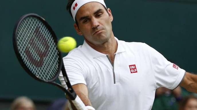 Trifft im Wimbledon-Halbfinale auf RafaelNadal: Roger Federer.