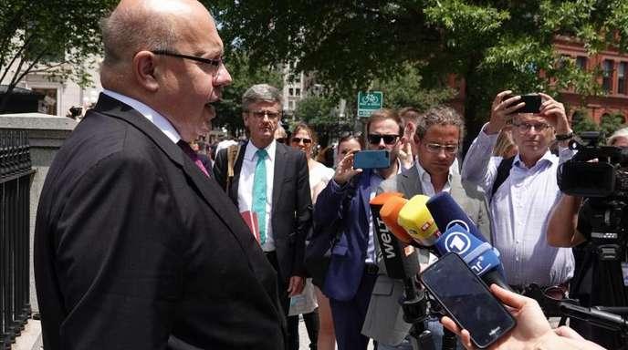 Bundeswirtschaftsminister Altmaier hält eine Lösung im schwierigen Handelskonflikt mit den USA für möglich.