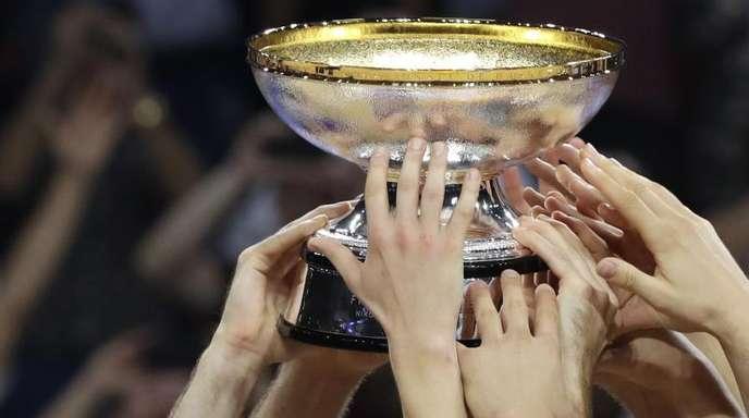 Der EM-Pokal der Basketballer wird 2021 in Deutschland ausgespielt.