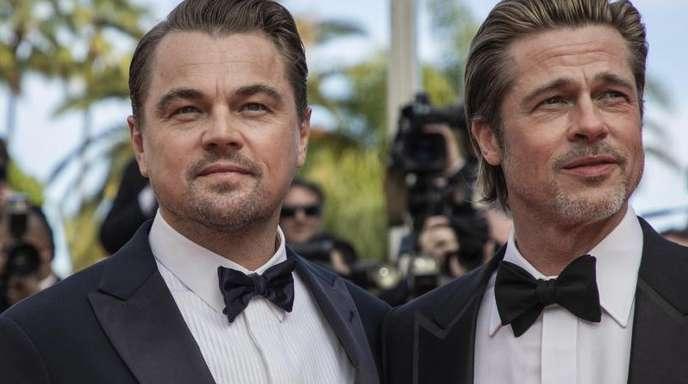 Brad Pitt konnte Leonardo DiCaprio keine Antwort entlocken.