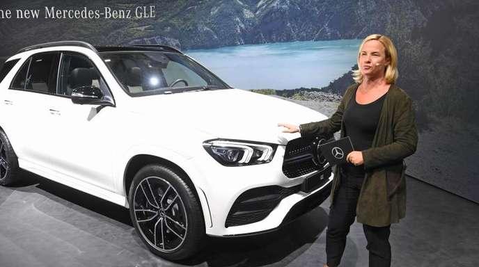 Daimler-Vertriebsvorständin Britta Seeger: «Wir sehen ein hohes Interesse im Online-Bereich.»