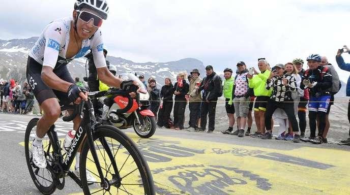 Neuer Gesamtführender der 106. Tour de France.