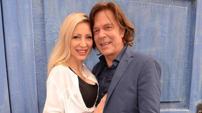 Sänger Jürgen Drews und seine Frau Ramona sind seit 25 Jahren verheiratet.