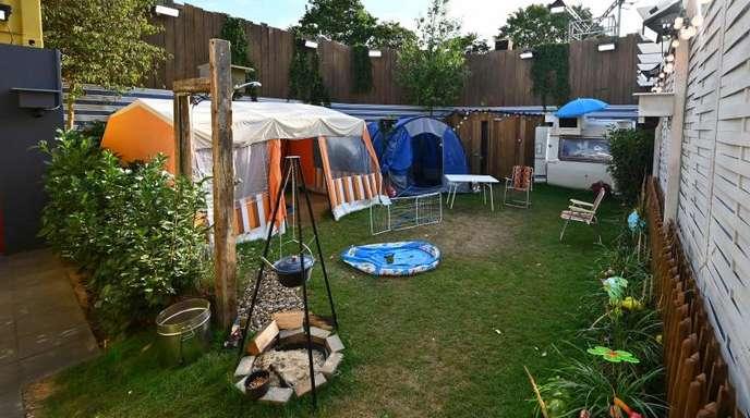Es wird wohl eng auf dem Sat.1- Campingplatz.