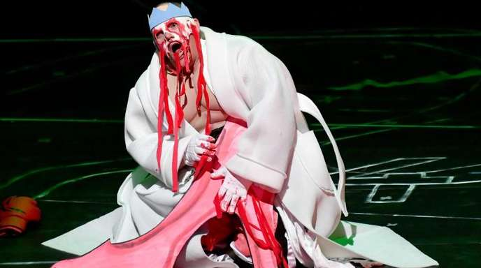 Christopher Maltman als Ödipus in der Oper «Oedipe» von George Enescu in Salzburg.