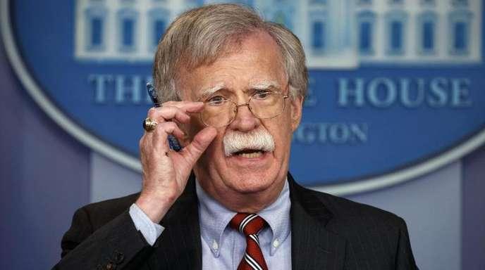John Bolton hat in der Regierung Trump das Amt des Nationalen Sicherheitsberaters.