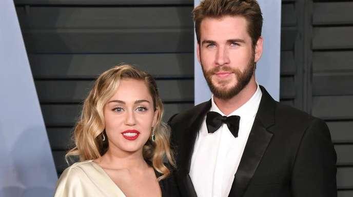 Ihre Ehe hat nur kurz gehalten:Miley Cyrus und Liam Hemsworth.