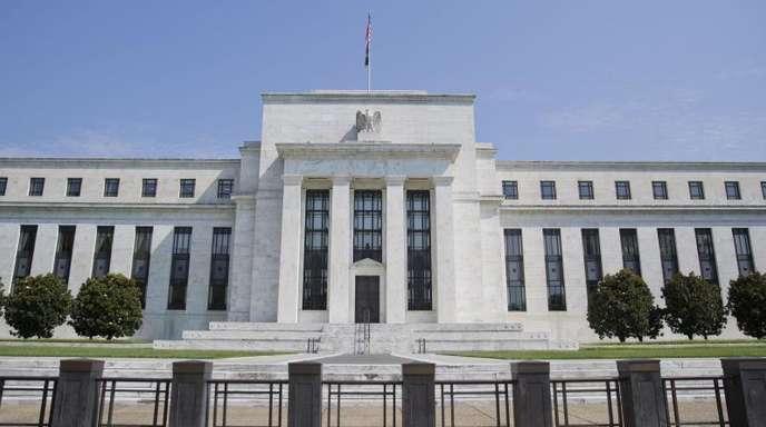 Das Marriner S. Eccles Federal Reserve Board Building in Washington ist Hauptsitz der US-Notenbank Federal Reserve.