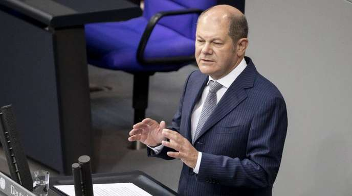 Bundesfinanzminister Scholz plant Haushaltsausgaben von fast 360 Milliarden Euro - Klimaschutz noch nicht eingerechnet.