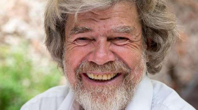 Der ehemalige Extrembergsteiger Reinhold Messner hat kein Bedürfnis, sich jugendlicher zu zeigen, als er ist.