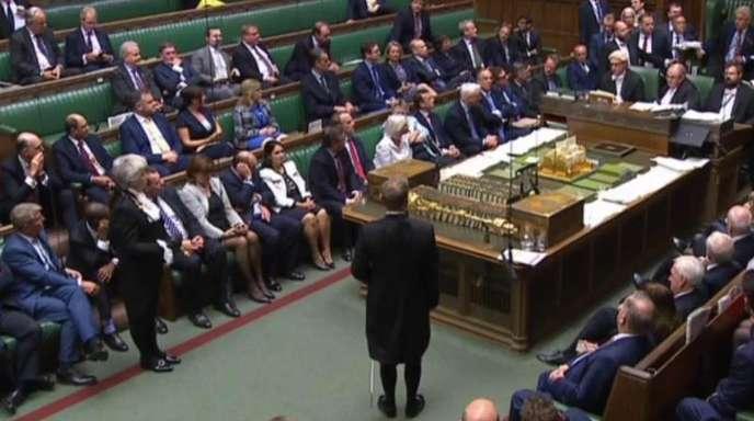 Blick in das britische Unterhaus: Ein schottisches Berufungsgericht hat die Zwangspause des britischen Parlaments für unrechtmäßig erklärt.