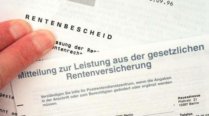 Nach dem Tod der Mutter offenbar weiter die Rente kassiert. Gegen den 57-Jährigen wird nun wegen mutmaßlichen Leistungsbetrugs ermittelt. Symbolbild: Jens Kalaene
