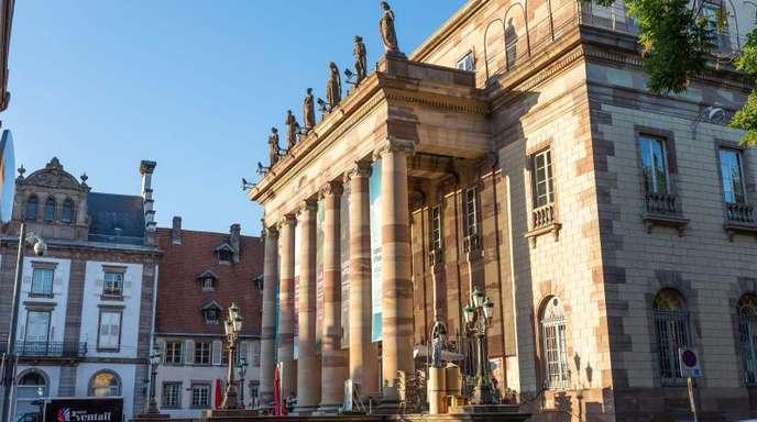 Die Opera national du Rhin im Elsass.