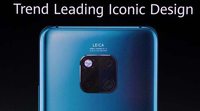 Richard Yu, Chef des Verbrauchergeschäfts von Huawei, präsentiert während einer Pressekonferenz die neue Smartphone-Serie Mate 30/30 Pro.