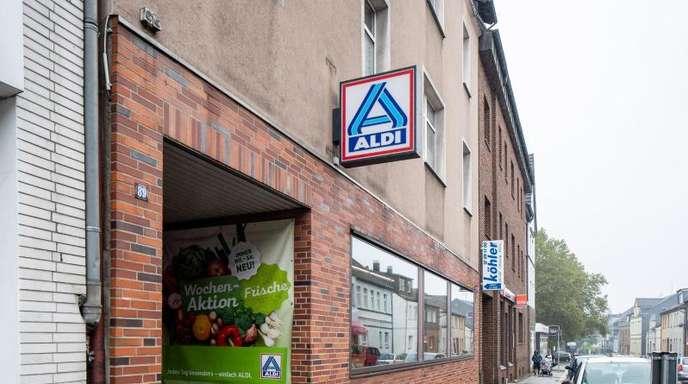 Die Verkaufsräume im Aldi-Stammhaus in Essen sollen nach einem Jahrhundert Lebensmittelhandel künftig anderweitig genutzt werden.