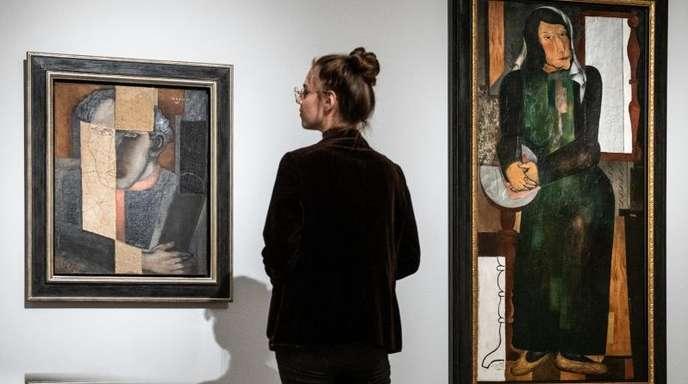 Blick in die Ausstellung «Else Lasker-Schüler - Prinz Jussuf von Theben und die Avantgarde».