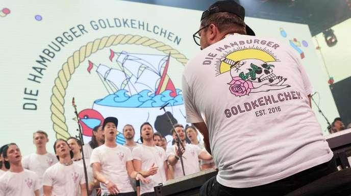 Die Hamburger Goldkehlchen wollen beim Eurovision Song Contest 2020 in den Niederlanden für Deutschland antreten.