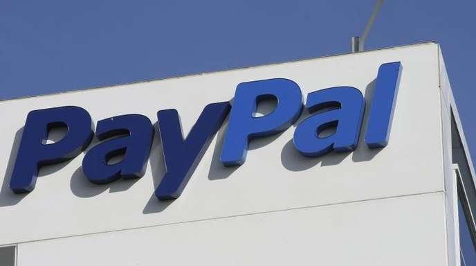 Außenansicht der eBay/PayPal-Büros in San Jose, Kalifornien. F.