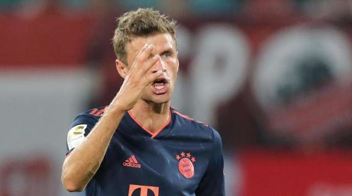 Beim FC Bayern nur noch Teilzeitkraft: Thomas Müller.