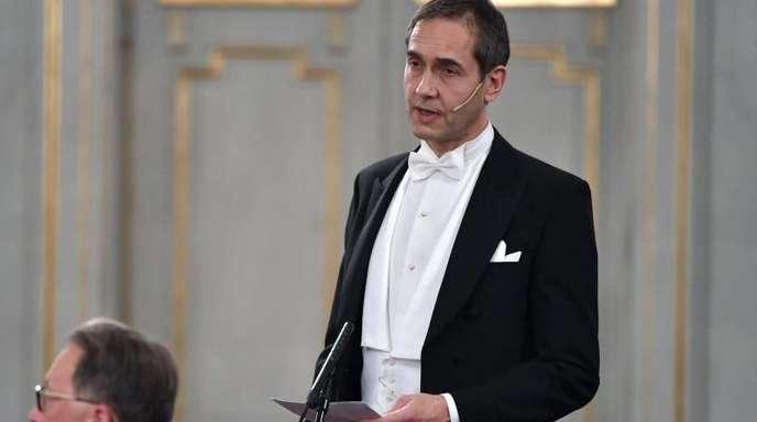 Mats Malm wird die Literaturnobelpreisträger verkünden.