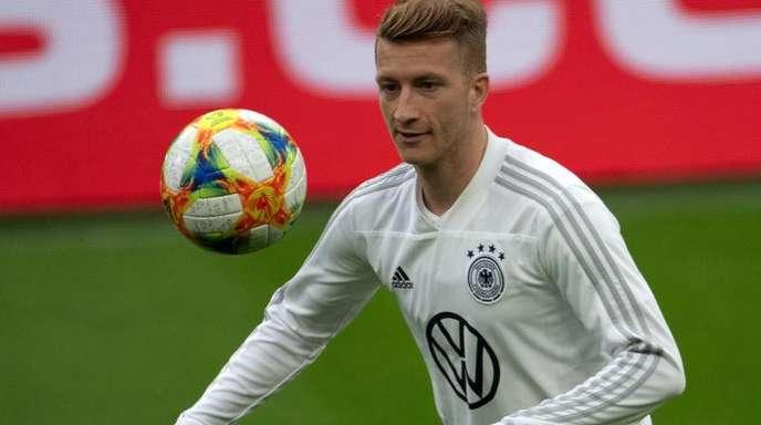 Soll gegen Estland wieder im DFB-Trikot auflaufen: Marco Reus.