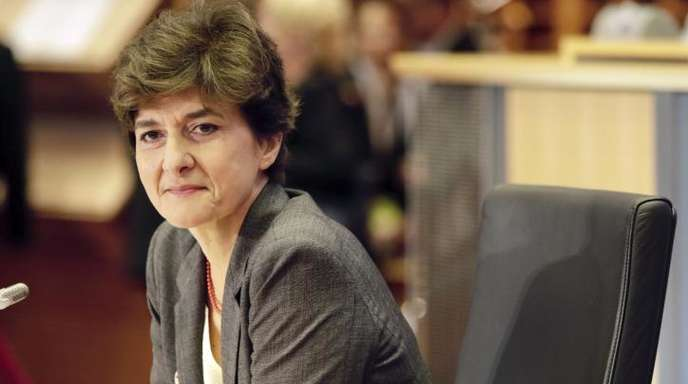 Durchgefallen: Die Französin Sylvie Goulard war als EU-Kommissarin für den Binnenmarkt vorgesehen.