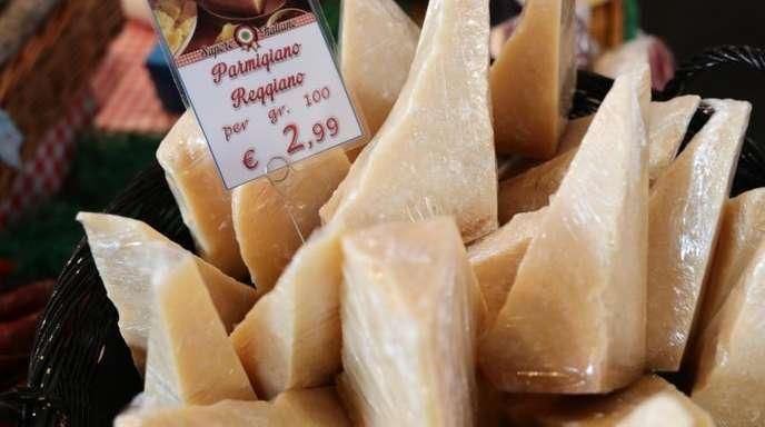 Auch italienischer Parmesan ist von den US-Strafzöllen betroffen.