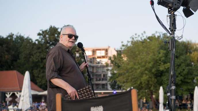 Wolf Hogekamp sowas wie der Pate des Poetry Slam.