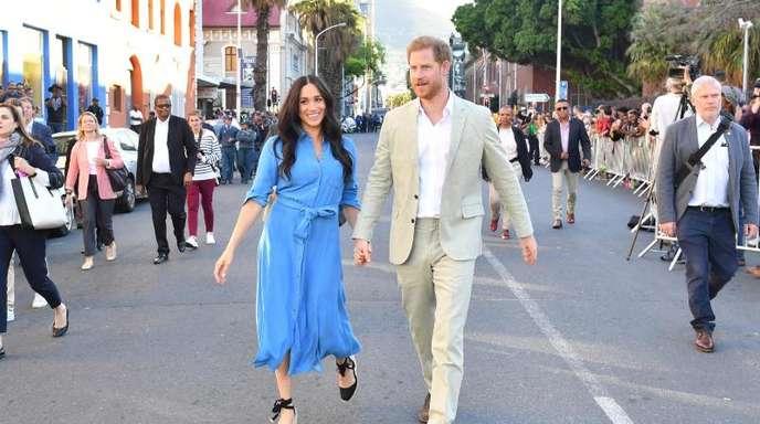 Harry und Meghan in Kapstadt.