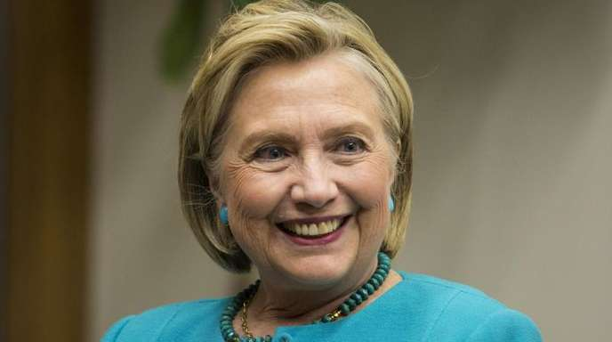 Die frühere US-Präsidentschaftskandidatin Hillary Clinton in Chicago.