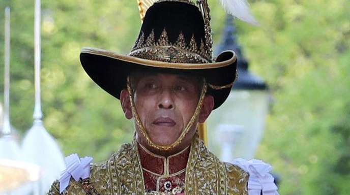 König Maha Vajiralongkorn, mit Beinamen Rama X.