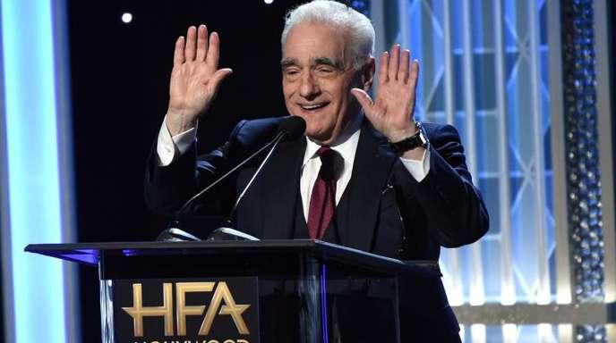 Martin Scorsese bei der Verleihung der Hollywood Film Awards.